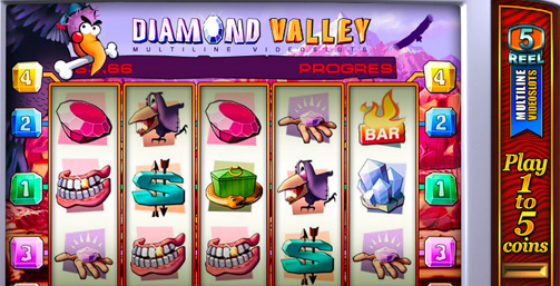 Review Slot Online Diamond Valley